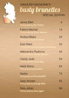 Vanquish Magazine – April 2020 – Busty Brunettes – Aleksandra Ryabova