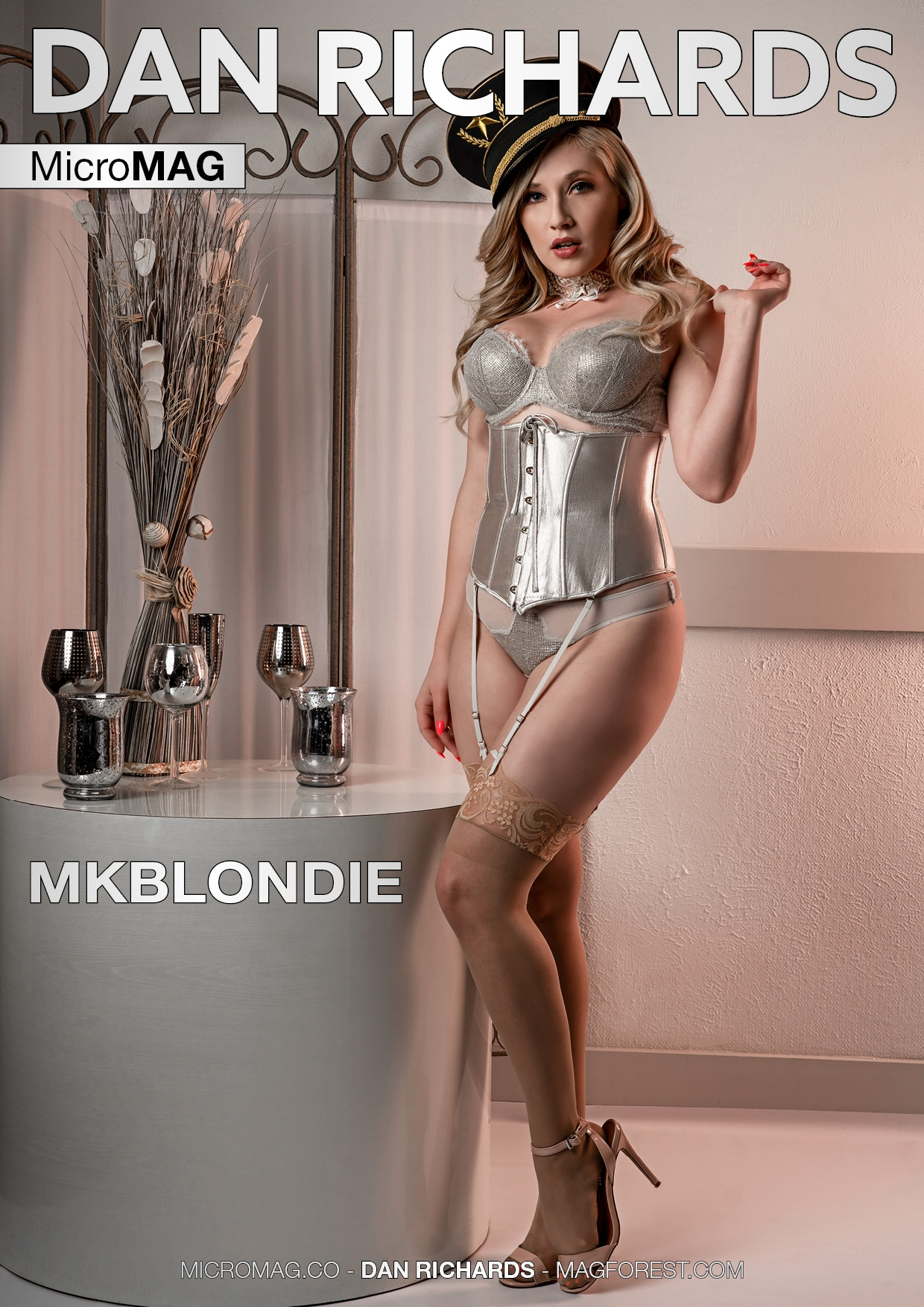 Dan Richards Micromag – Mkblondie – Issue 3