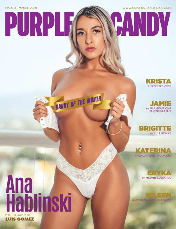 Purple Candy Magazine March 2020