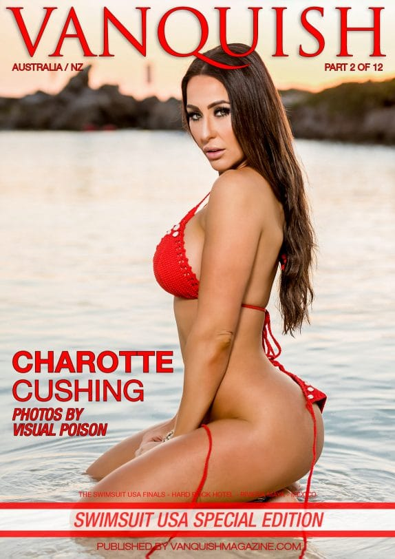Vanquish Magazine - Swimsuit USA 2018 - Part 2 - Charlotte Cushing