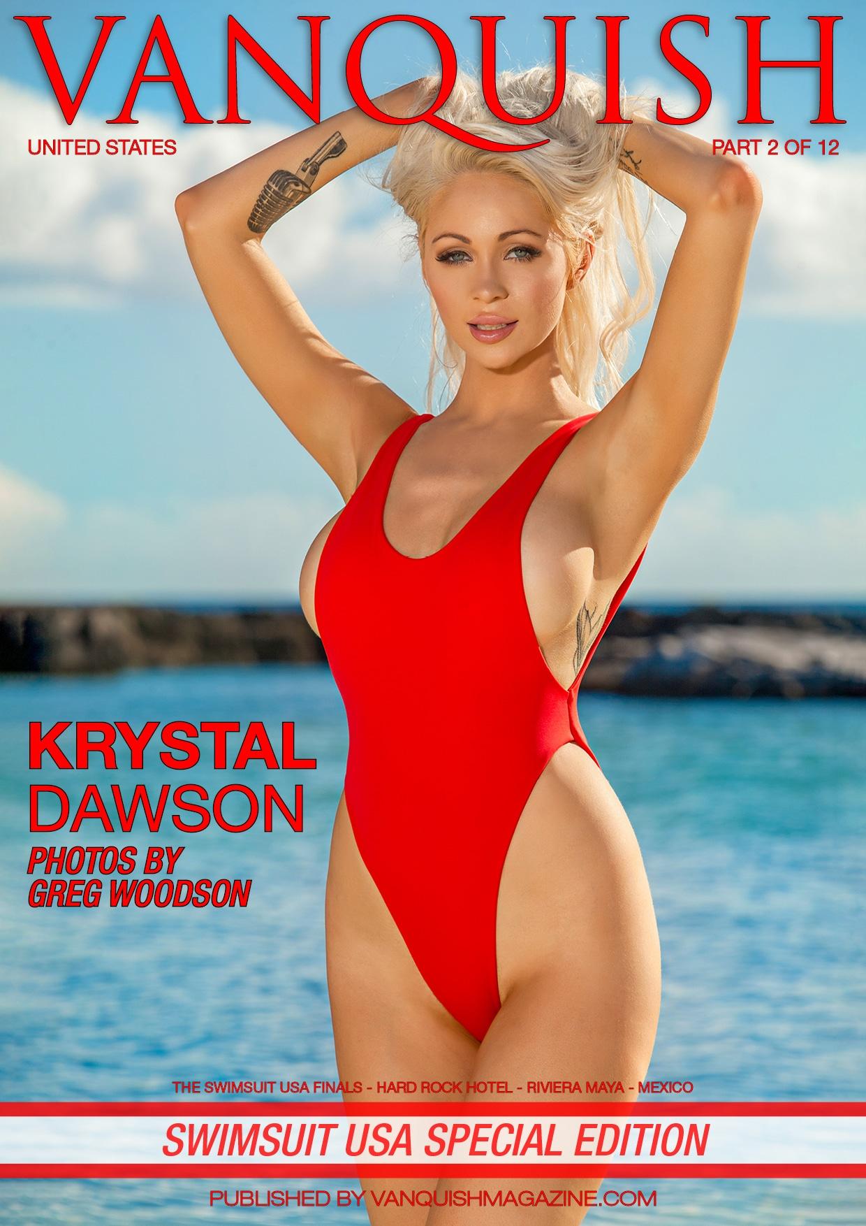 Vanquish Magazine - Swimsuit USA 2018 - Part 2 - Krystal Dawson