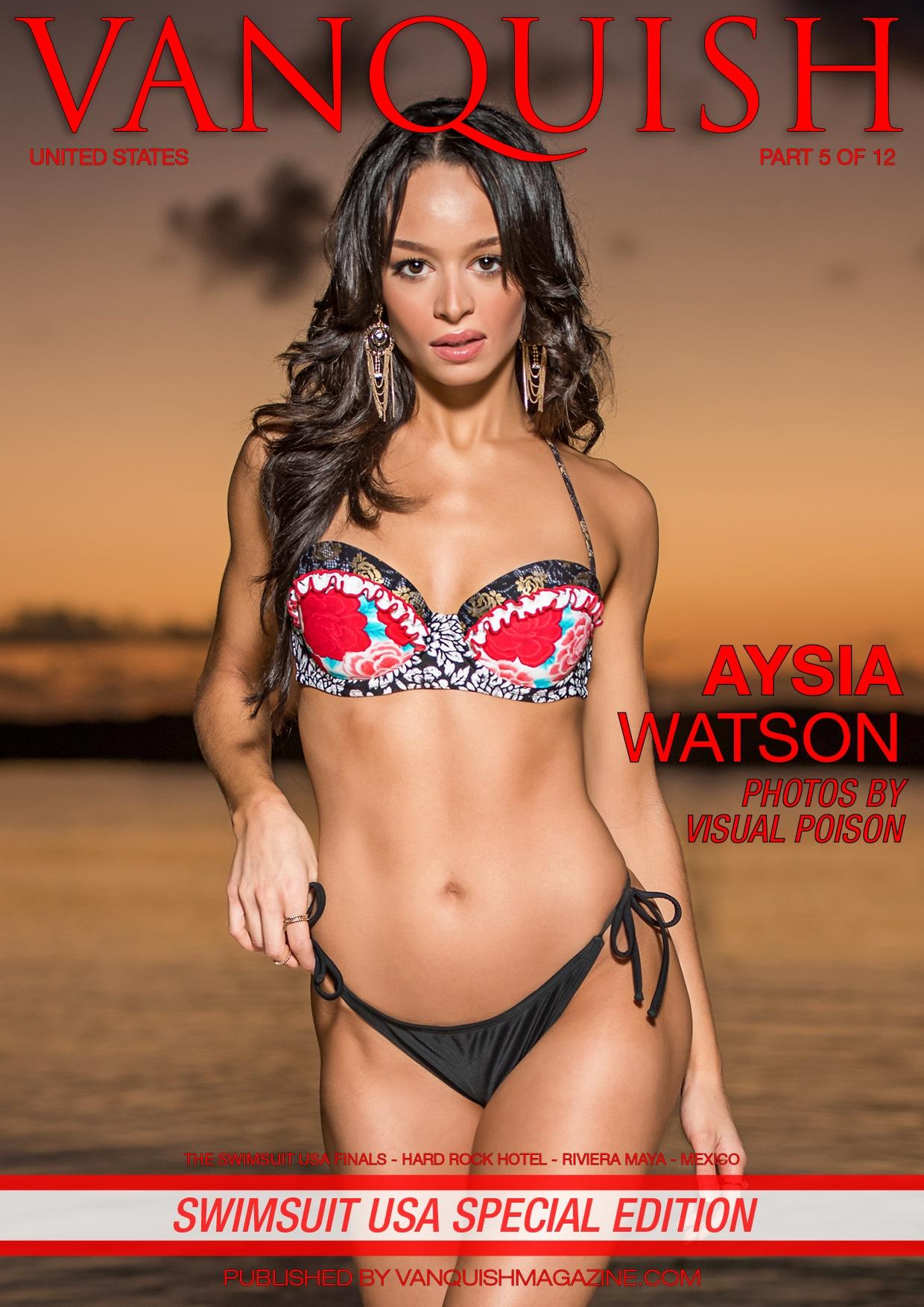 Vanquish Magazine - Swimsuit USA 2018 - Part 5 - Aysia Watson