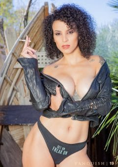 Vanquish Magazine – April 2020 – Busty Brunettes – Andrea Blake