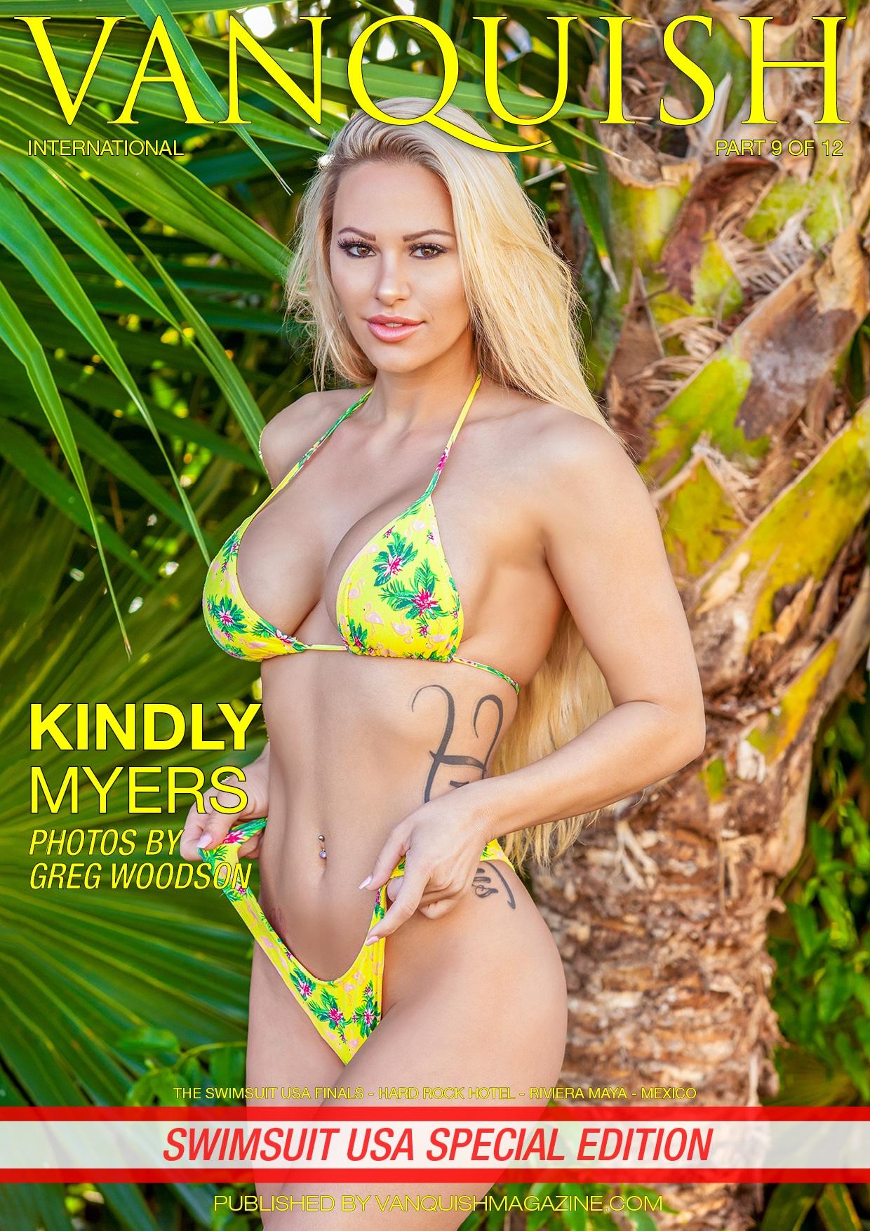 Vanquish Magazine - Swimsuit USA 2018 - Part 9 - Kindly Myers