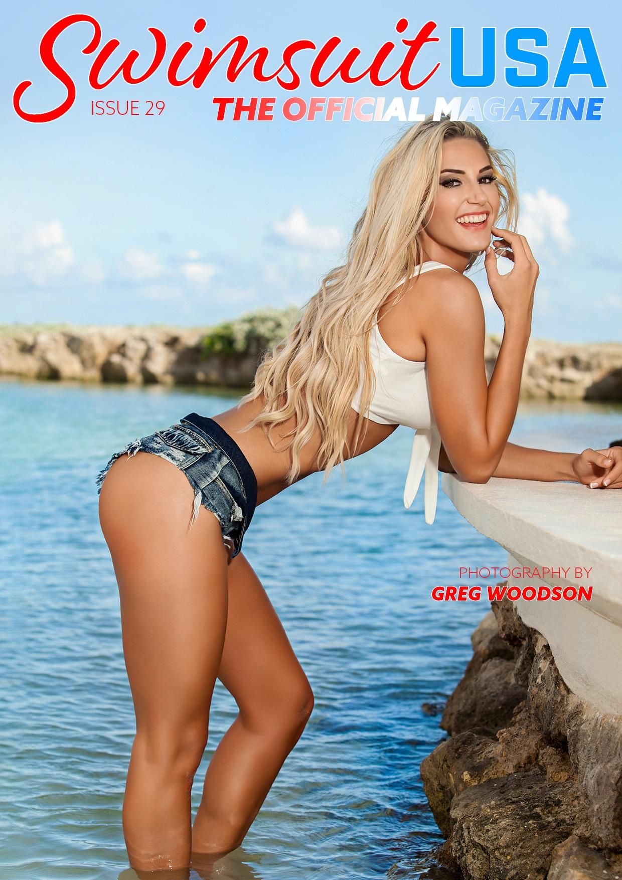 Swimsuit USA Magazine - Issue 29 - Lara Mitton