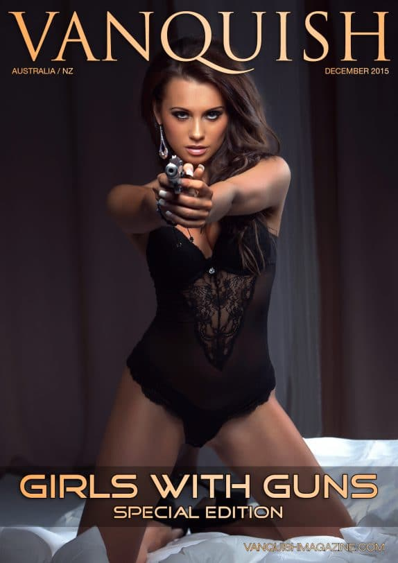 Vanquish Magazine - Girls with Guns - Kasia Bucko