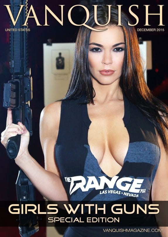 Vanquish Magazine - Girls with Guns - Sierra Rene