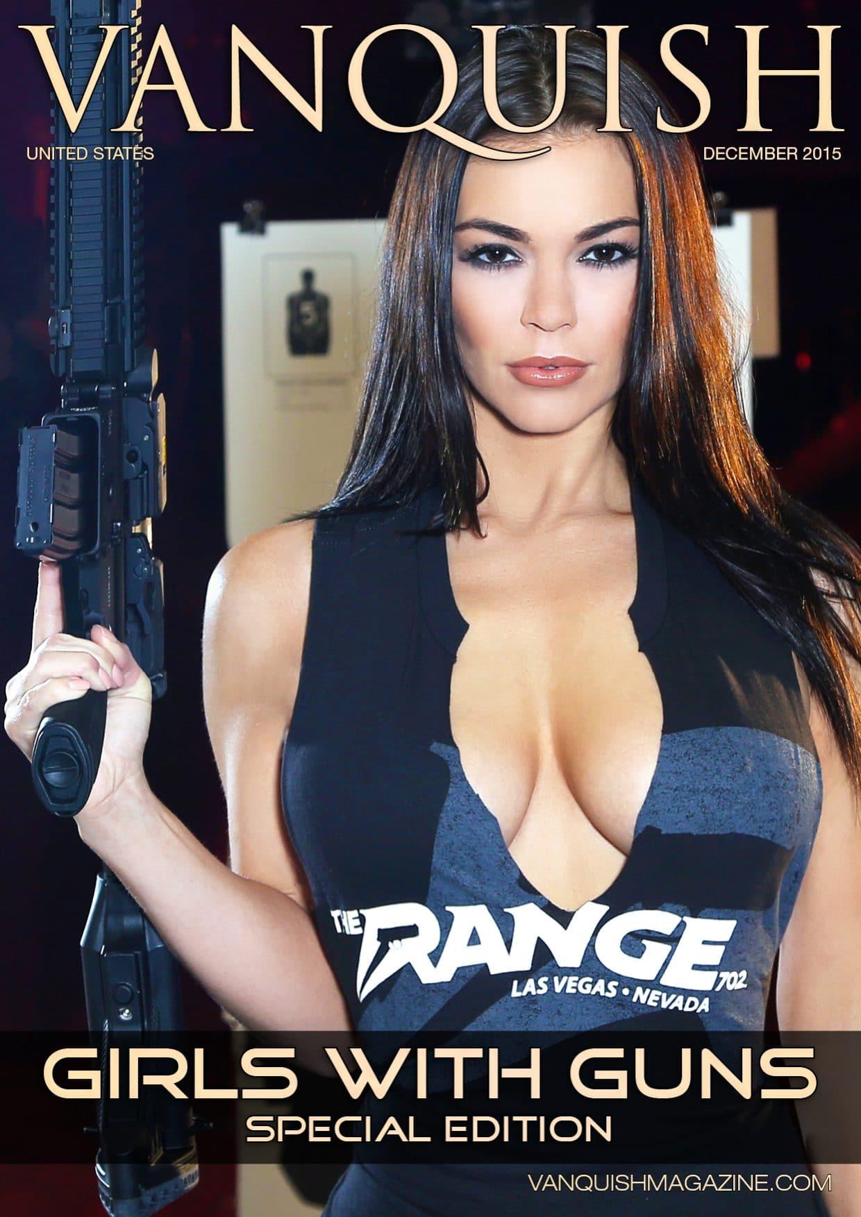 Vanquish Magazine - Girls with Guns - Sierra Rene