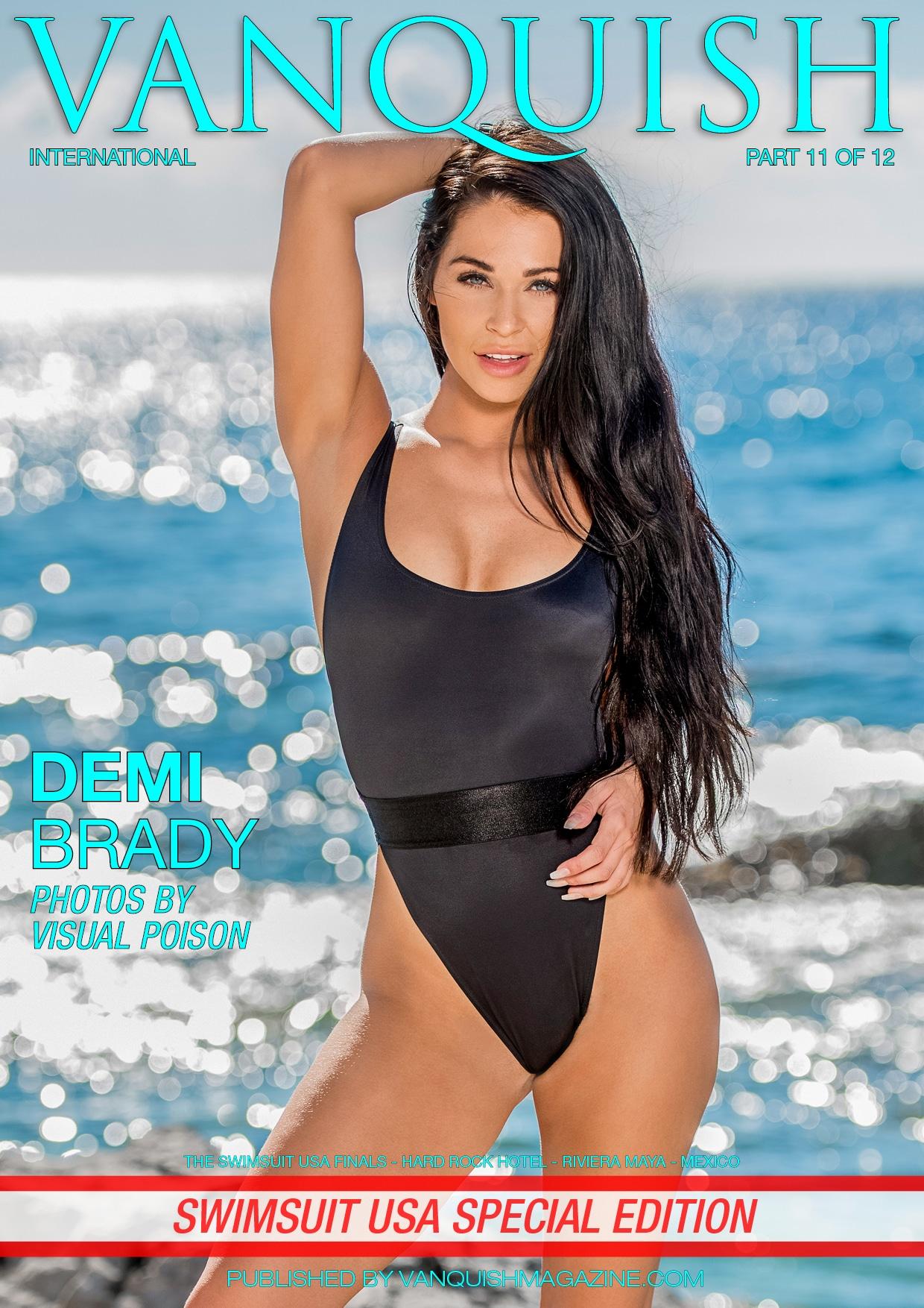 Vanquish Magazine - Swimsuit USA 2018 - Part 11 - Demi Brady