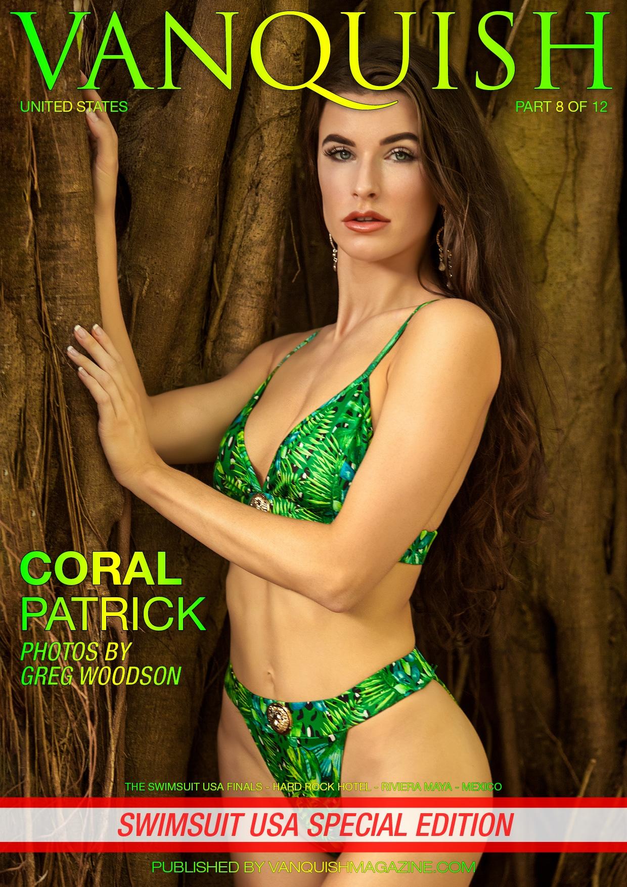 Vanquish Magazine - Swimsuit USA 2018 - Part 8 - Coral Patrick
