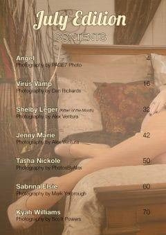 Vanquish Magazine – July 2020 – Sabrina Elsie