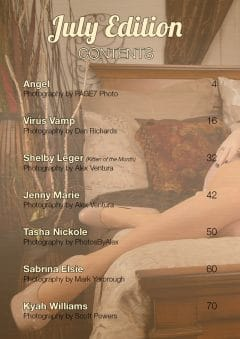 Vanquish Magazine – July 2020 – Tasha Nickole