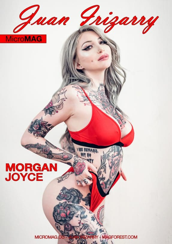 Juan Irizarry MicroMAG - Morgan Joyce - Issue 2