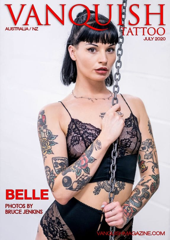 Vanquish Tattoo - July 2020 - Belle