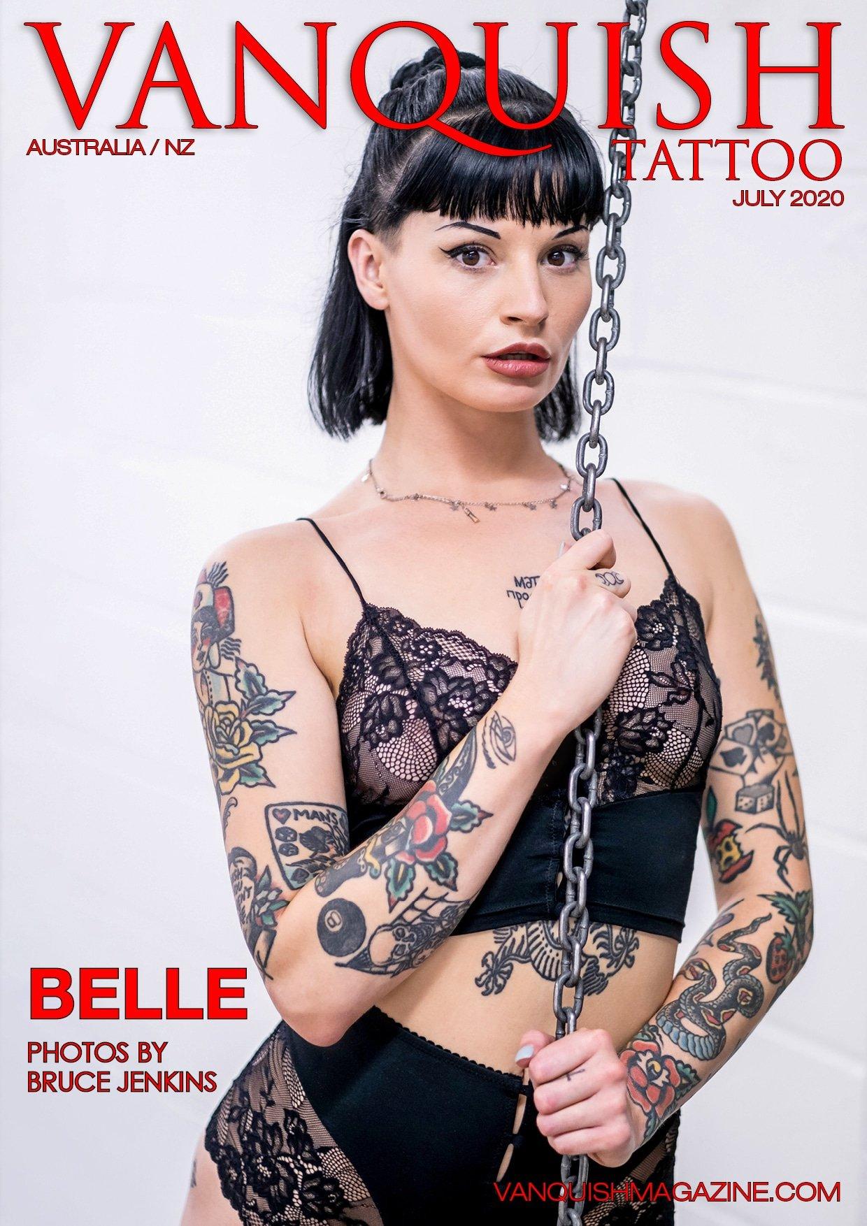 Vanquish Tattoo - July 2020 - Belle