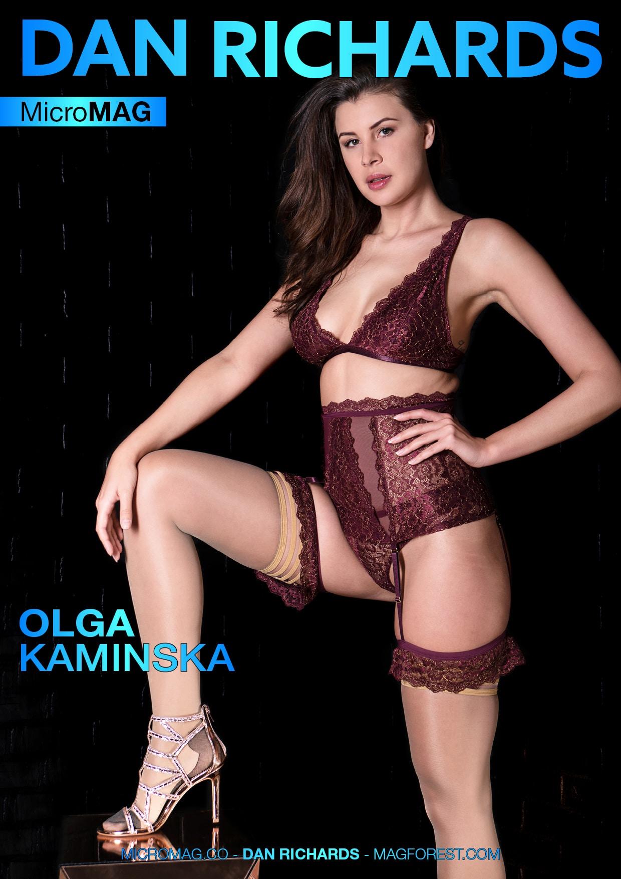 Dan Richards MicroMAG - Olga Kaminska - Issue 2