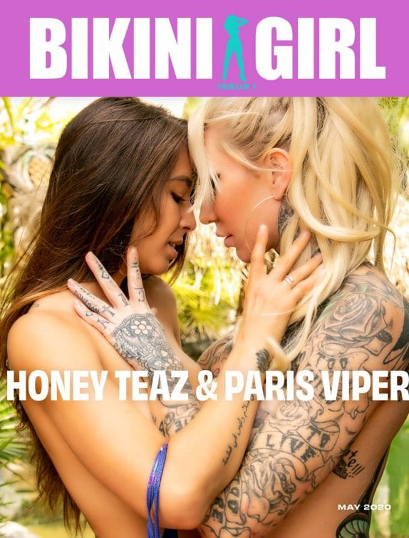Bikini Girl - May 2020 - Paris Viper & Honey Teaz