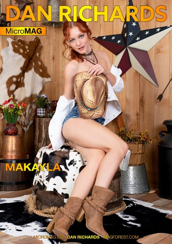 Dan Richards MicroMAG - Makayla - Issue 2