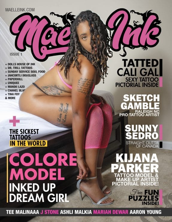 Maelle Ink Magazine – Issue 1 – Colore