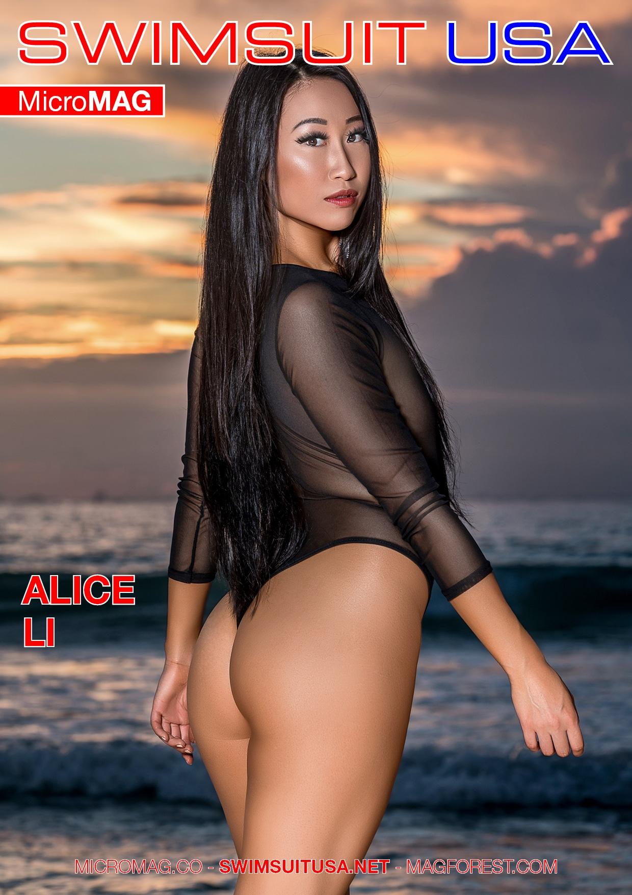 Swimsuit USA MicroMAG - Alice Li