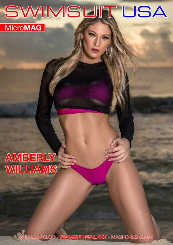 Swimsuit USA MicroMAG - Amberly Williams