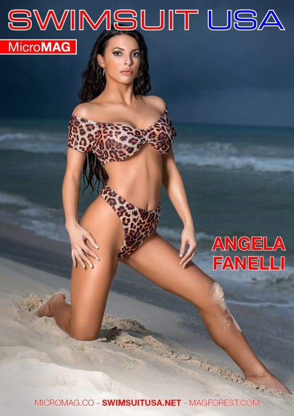 Swimsuit USA MicroMAG - Angela Fanelli - Issue 2