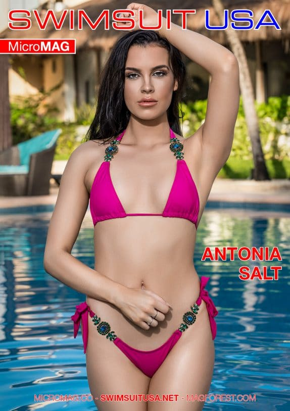 Swimsuit USA MicroMAG - Antonia Salt