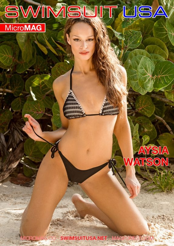 Swimsuit USA MicroMAG - Aysia Watson - Issue 2