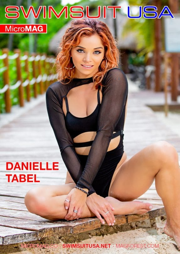 Swimsuit USA MicroMAG - Danielle Tabel
