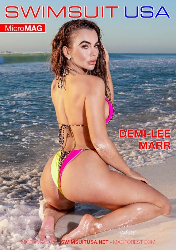 Swimsuit USA MicroMAG - Demi-Lee Marr
