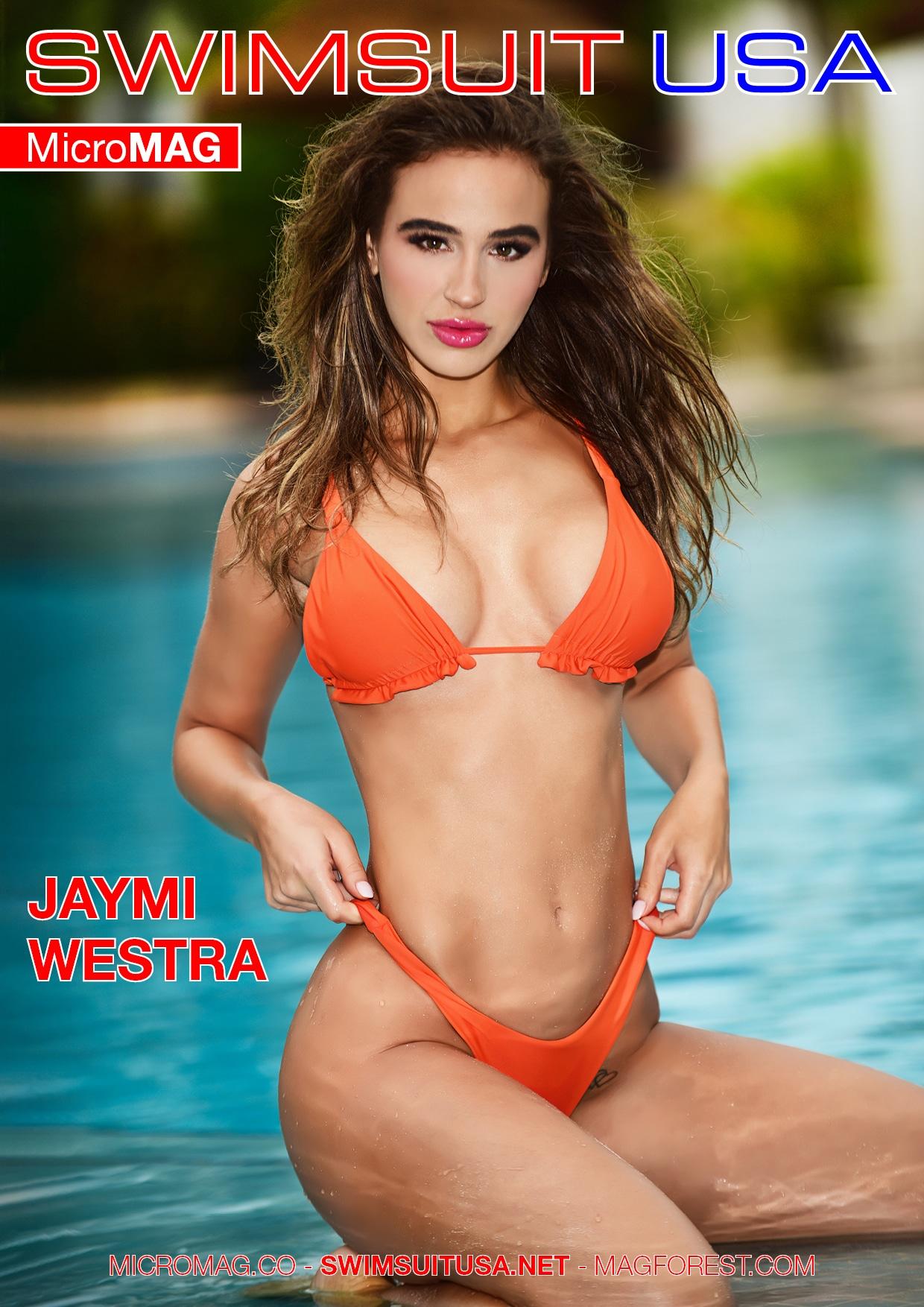 Swimsuit USA MicroMAG - Jaymi Westra
