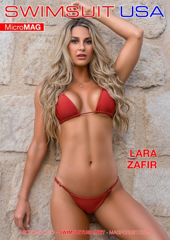 Swimsuit USA MicroMAG - Lara Zafir