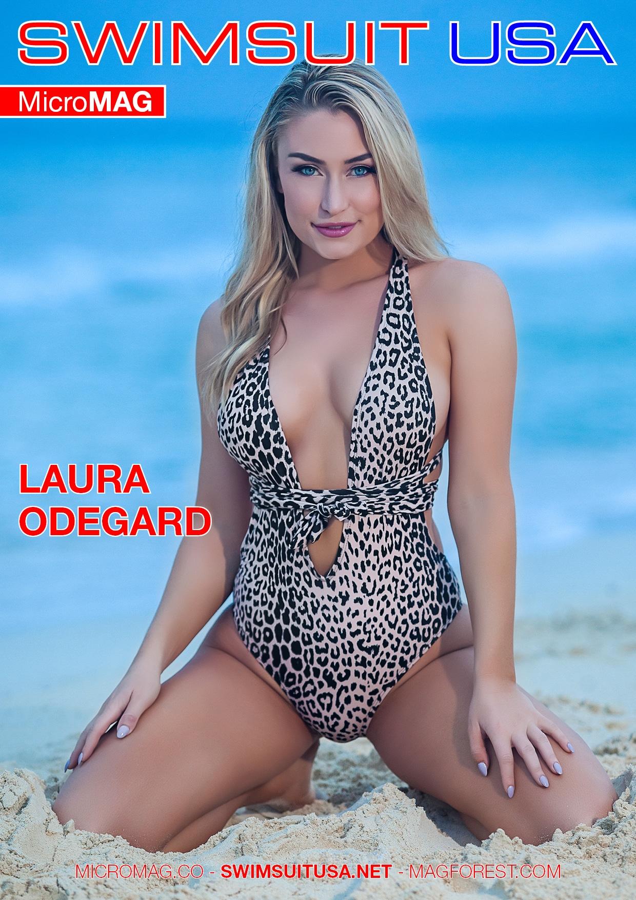 Swimsuit USA MicroMAG - Laura Odegard
