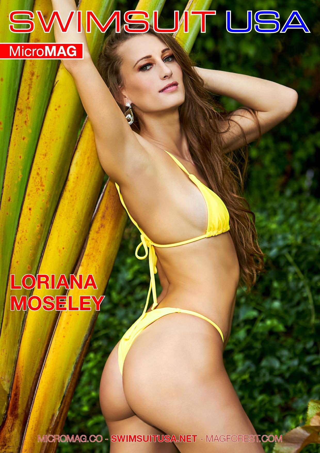 Swimsuit USA MicroMAG - Loriana Moseley