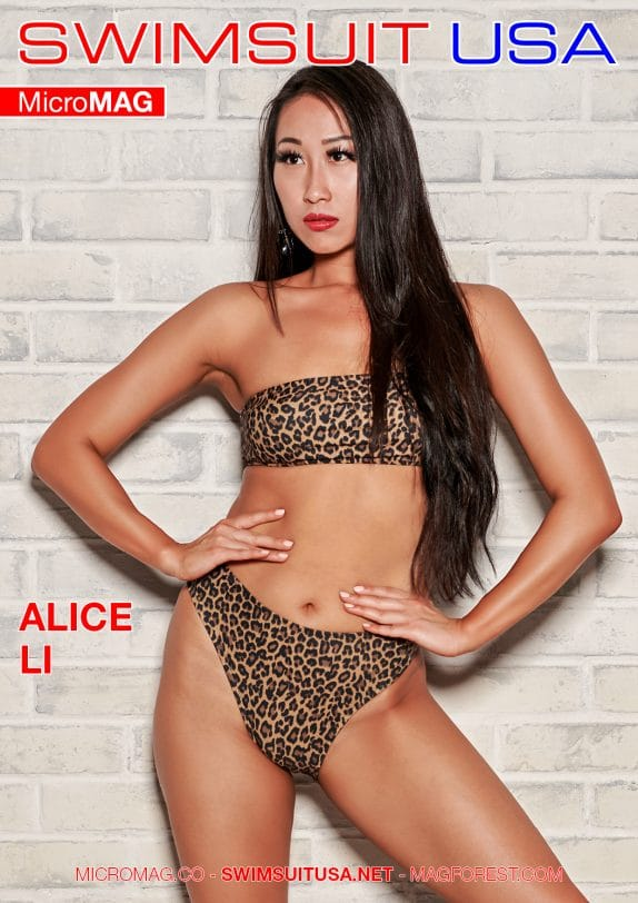 Swimsuit USA MicroMAG - Alice Li - Issue 2
