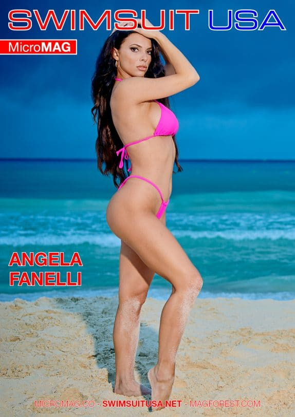 Swimsuit USA MicroMAG - Angela Fanelli - Issue 3