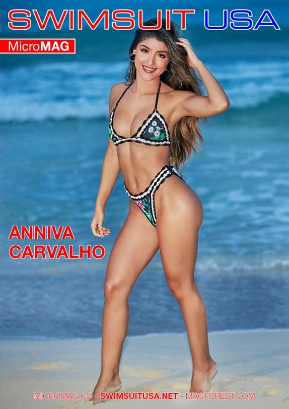 Swimsuit USA MicroMAG - Anniva Carvalho - Issue 3