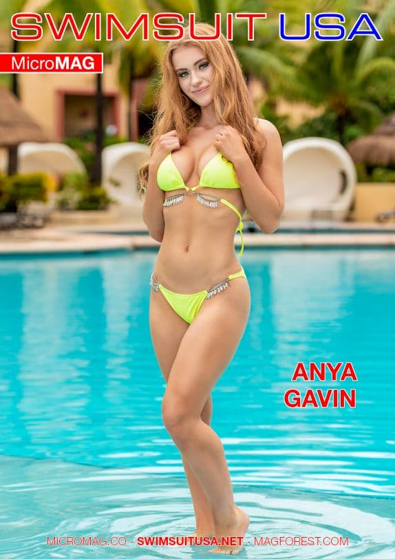 Swimsuit USA MicroMAG - Anya Gavin - Issue 2
