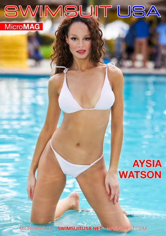 Swimsuit USA MicroMAG - Aysia Watson - Issue 3