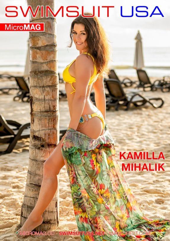 Swimsuit USA MicroMAG - Kamilla Mihalik - Issue 5