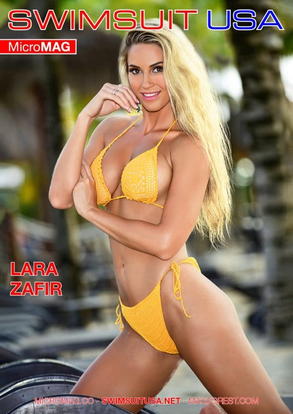 Swimsuit USA MicroMAG - Lara Zafir - Issue 2