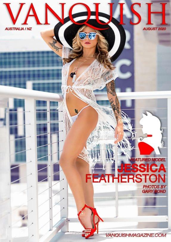 Vanquish Magazine - August 2020 - Jessica Featherston