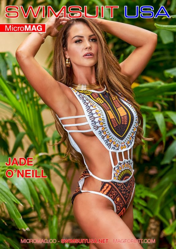 Swimsuit USA MicroMAG - Jade O'Neill