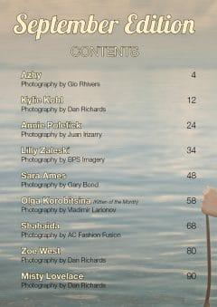 Vanquish Magazine – September 2020 – Olga Korobitsina