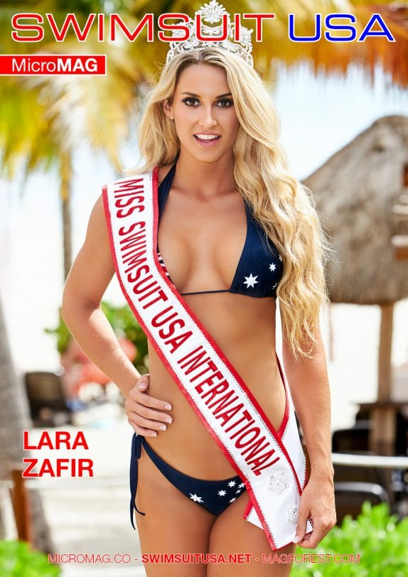 Swimsuit USA MicroMAG - Lara Zafir - Issue 3
