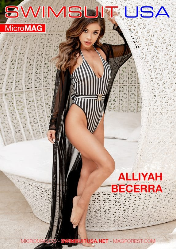 Swimsuit USA MicroMAG - Alliyah Becerra - Issue 5