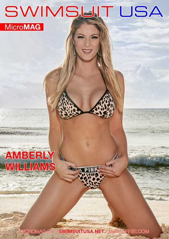 Swimsuit USA MicroMAG - Amberly Williams - Issue 3