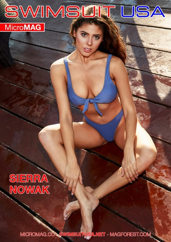 Swimsuit USA MicroMAG - Sierra Nowak - Issue 7
