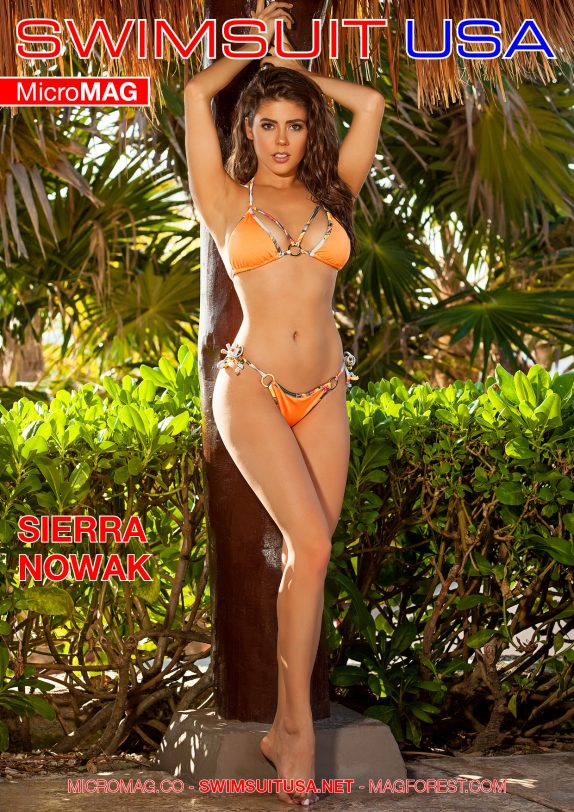 Swimsuit USA MicroMAG - Sierra Nowak - Issue 9