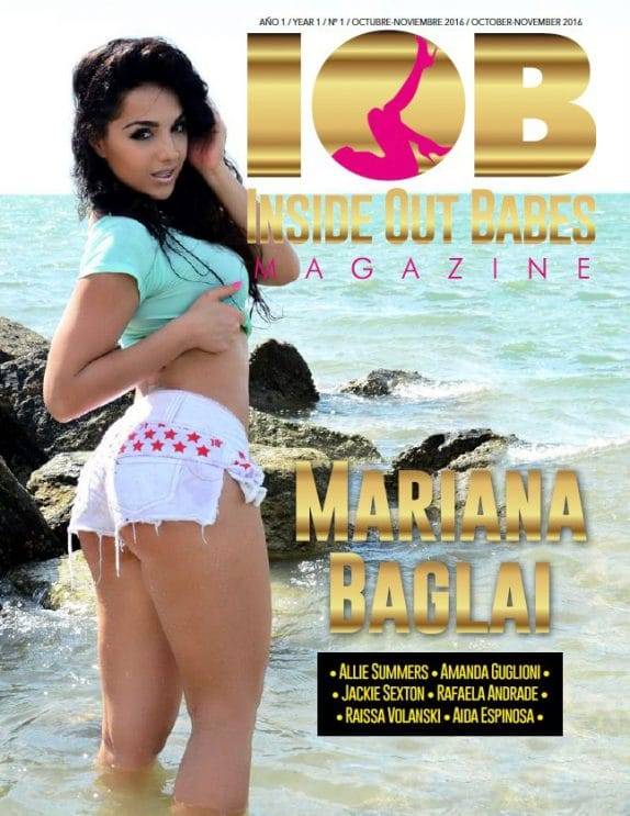 IOB - Inside Out Babes Magazine - Oct - Nov 2016 1